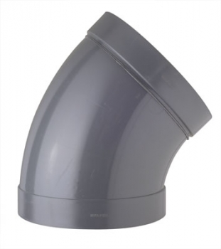 45° Elbow DN280 plastic