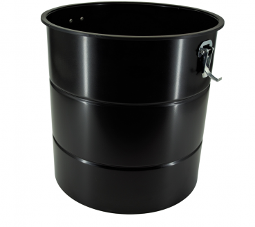 Metal dirt container 35 liters
