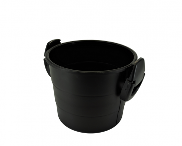 Metal dirt container 14l