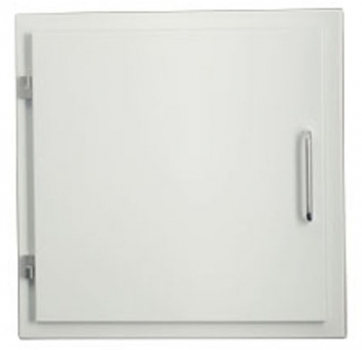 Easy-Line Laundry chute door DN400 white with lock
