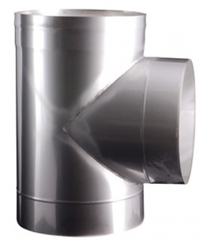 Easy-Line T- piece 90° DN250 stainless steel