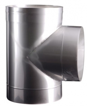 Easy-Line T- piece 90° DN400 stainless steel