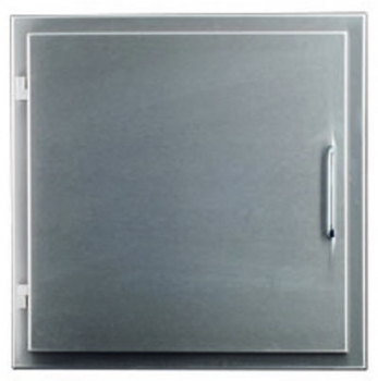 Easy-Line Laundry chute door DN300, stainless steel