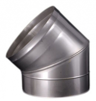 Easy-Line 45° Elbow DN250 stainless steel