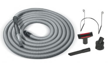 Garage cleaning kit with standard hose 9 m