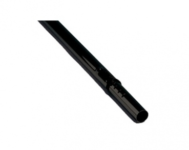 Telescopic wand, aluminium, black