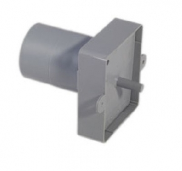 Mounting frame with straight connection for wall and floor inlet valve stainless steel DN50.8