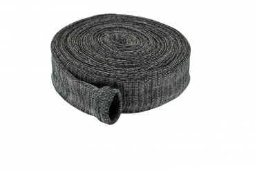 Hose protection sock, 9m anthrazit, cotton, incl. assembling aid
