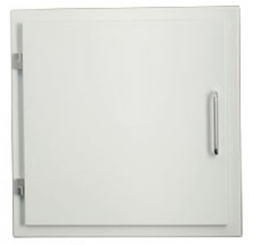 Easy-Line Laundry chute door DN300, white for KG-Pipesystem