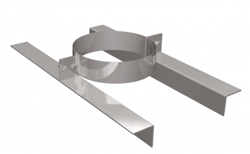Support DN250 stainless steel