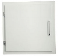 Easy-Line Laundry chute door, white, for Ø 300 mm stainless steel laundry chute
